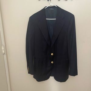 Men's Polo Ralph Lauren Navy Blue Blazer